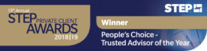PEOPLES CHOICE TRUSTED ADVISOR OF THE YEAR